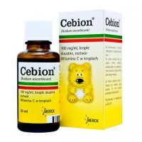 Cebion 100 mg, krople, 30 ml