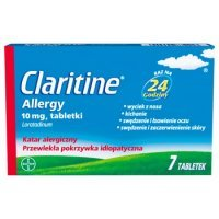 Claritine Allergy (Claritine SPE) 10 mg, 7 tabletek