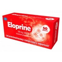 Eloprine 500 mg, 50 tabletek