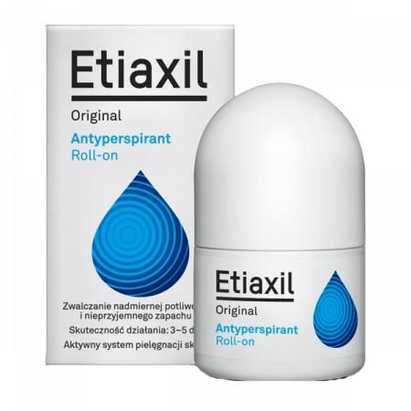 Etiaxil Original, antyperspirant roll-on pod pachy, 15 ml