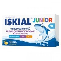 Iskial Junior 3+, 30 kapsułek do żucia