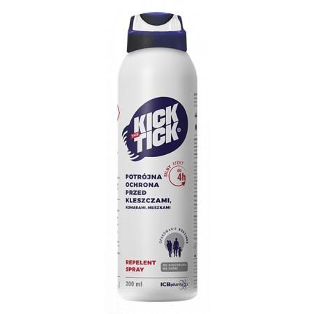 Kick The Tick Max Repelent Plus 200 ml komary kleszcze