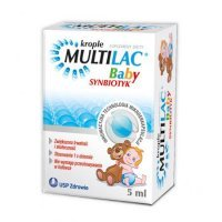 Multilac baby, krople, 5 ml