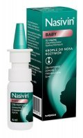 Nasivin Baby 0,1 mg/ml, krople do nosa, 5 ml