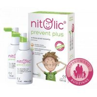Pipi Nitolic Prevent Plus wszy gnidy 150 ml