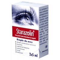 Starazolin 0,5 mg/ml, krople do oczu, 10 ml