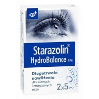 Starazolin HydroBalance PPH krople do oczu, 2x5 ml