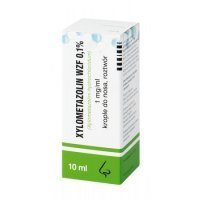 Xylometazolin WZF 0,1%, krople, 10 ml